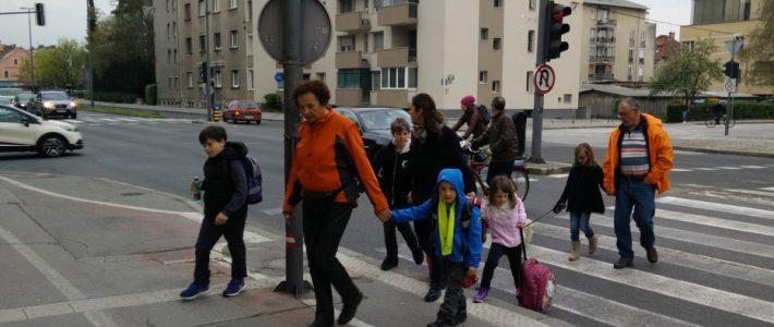 Pešbus in Bicivlak – Program Zdrav šolar