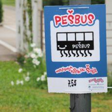 Aktivno v šolo – podpora šolam in občinam pri spodbujanju pešačenja in kolesarjenja v šolo